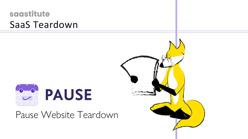 Pause Website Teardown SaaS Teardown