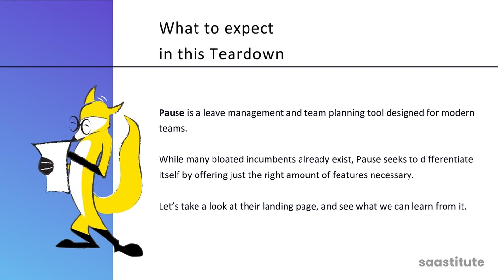 Pause is a leave management and team planning t...