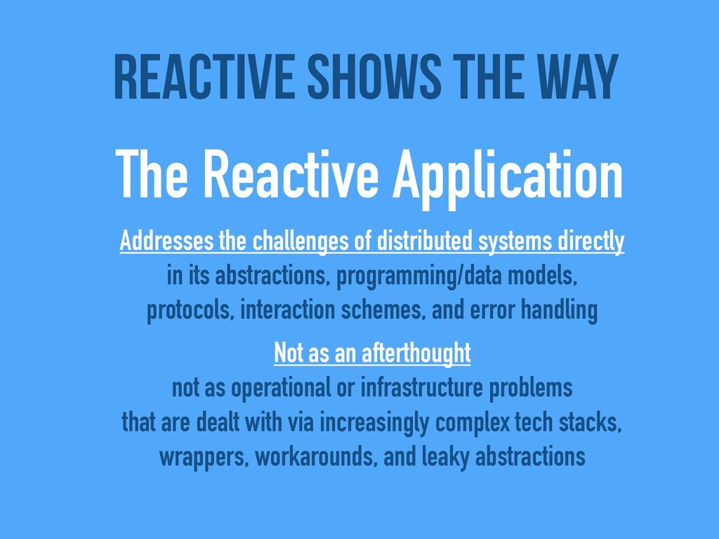Addresses the challenges of distributed systems...