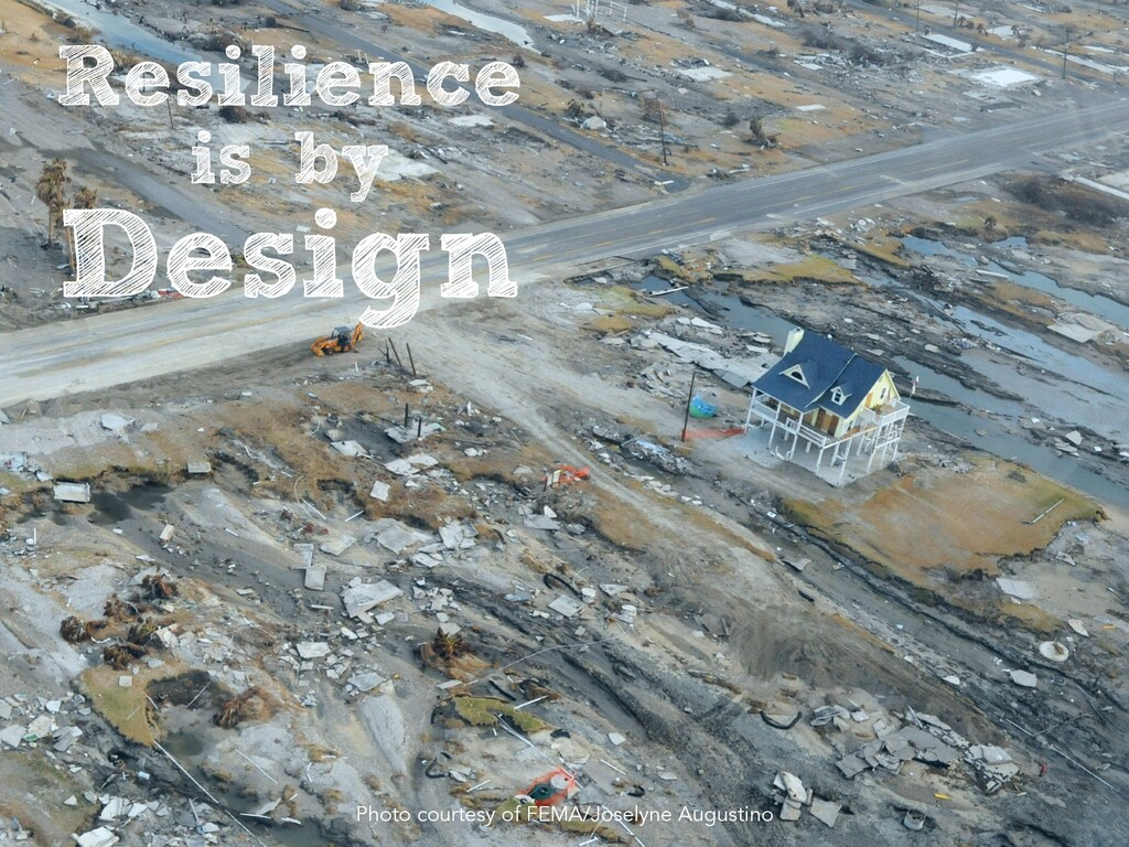 Resilience   is by   Design Photo courtesy of F...