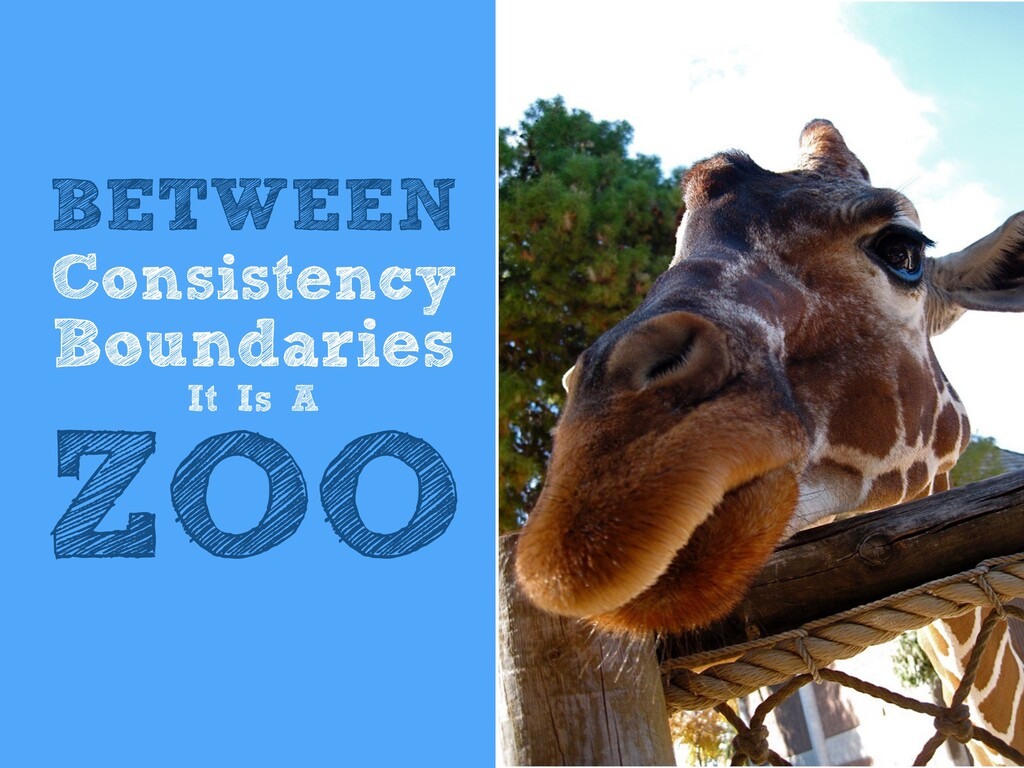 BETWEEN   Consistency   Boundaries   It Is A   ...