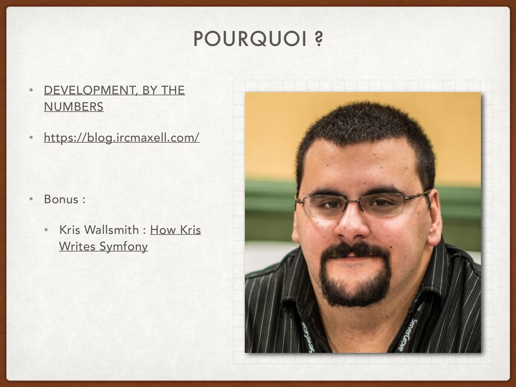 POURQUOI ? • DEVELOPMENT, BY THE NUMBERS • http...