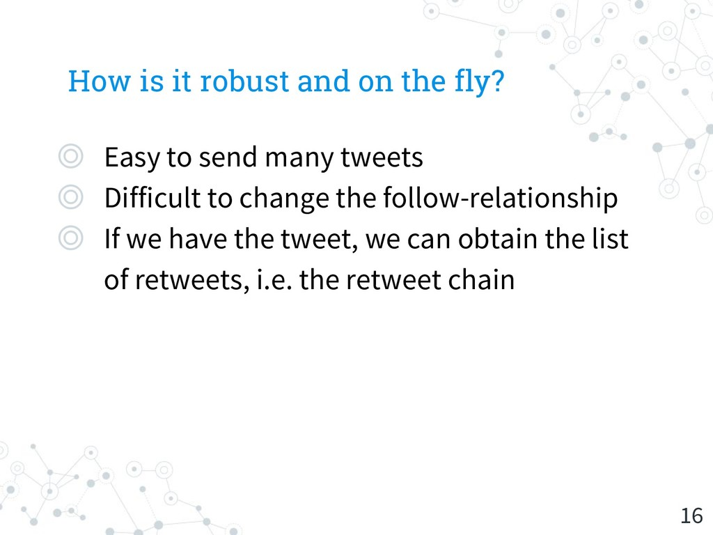 How is it robust and on the fly? ◎ Easy to send...