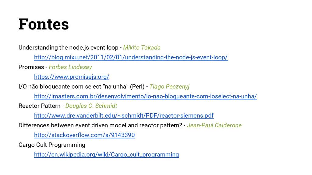 Fontes Understanding the node.js event loop - M...