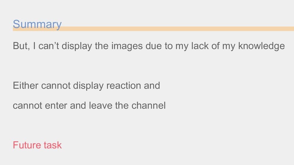 Summary But, I can't display the images due to ...