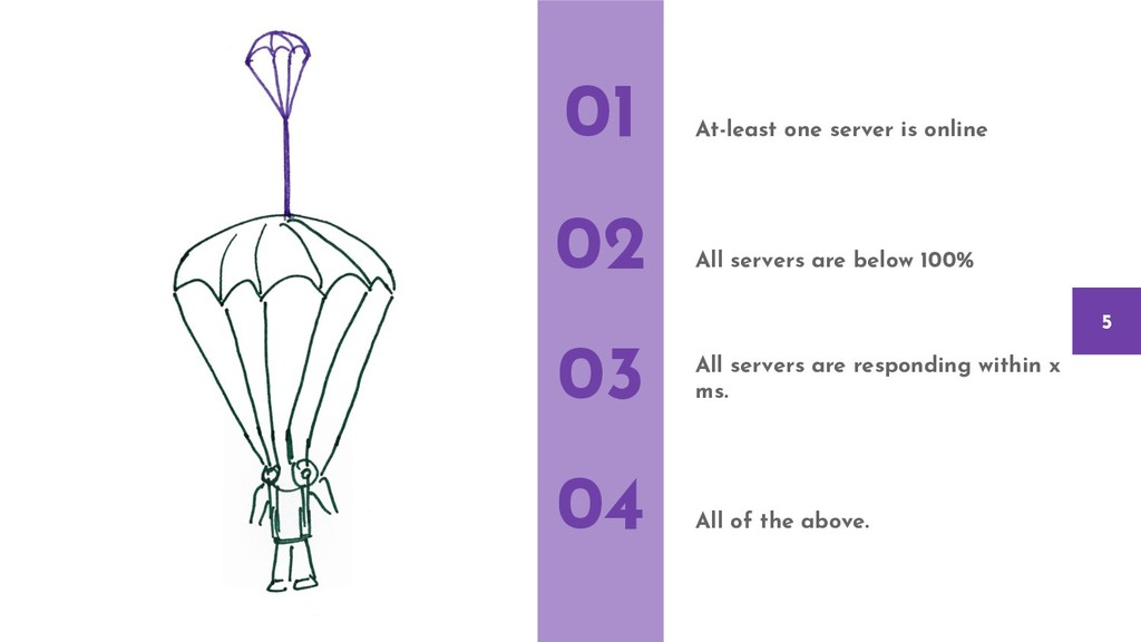At-least one server is online All servers are b...