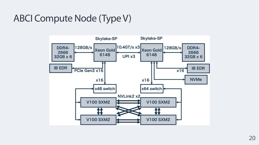 ABCI Compute Node (Type V) 20