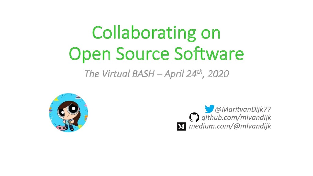 Collaborating on Open Source Software The Virtu...