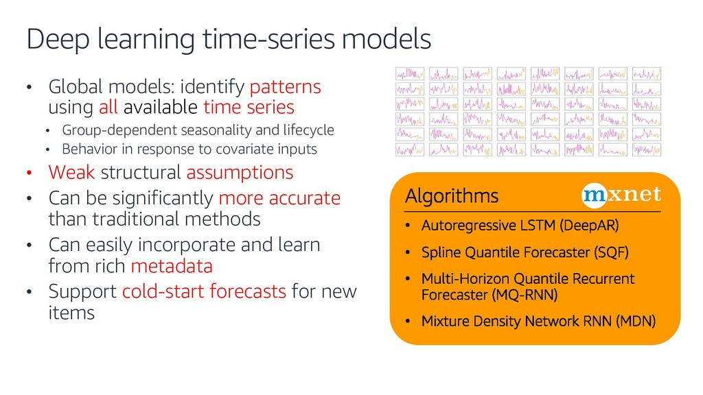 Deep learning time-series models • Global model...