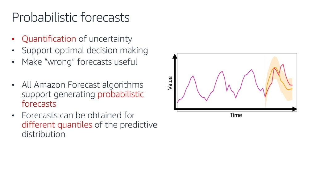 Probabilistic forecasts • Quantification of unc...