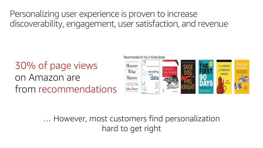 Personalizing user experience is proven to incr...