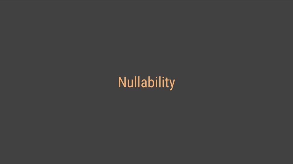 Nullability