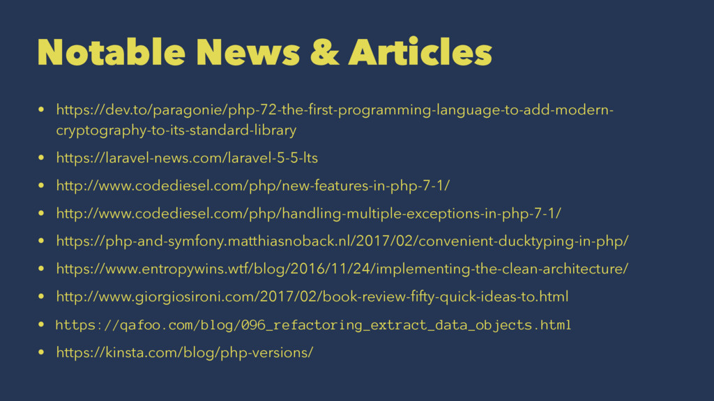 Notable News & Articles • https://dev.to/parago...