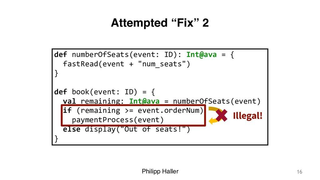 "Philipp Haller Attempted ""Fix"" 2 16 def numberO..."