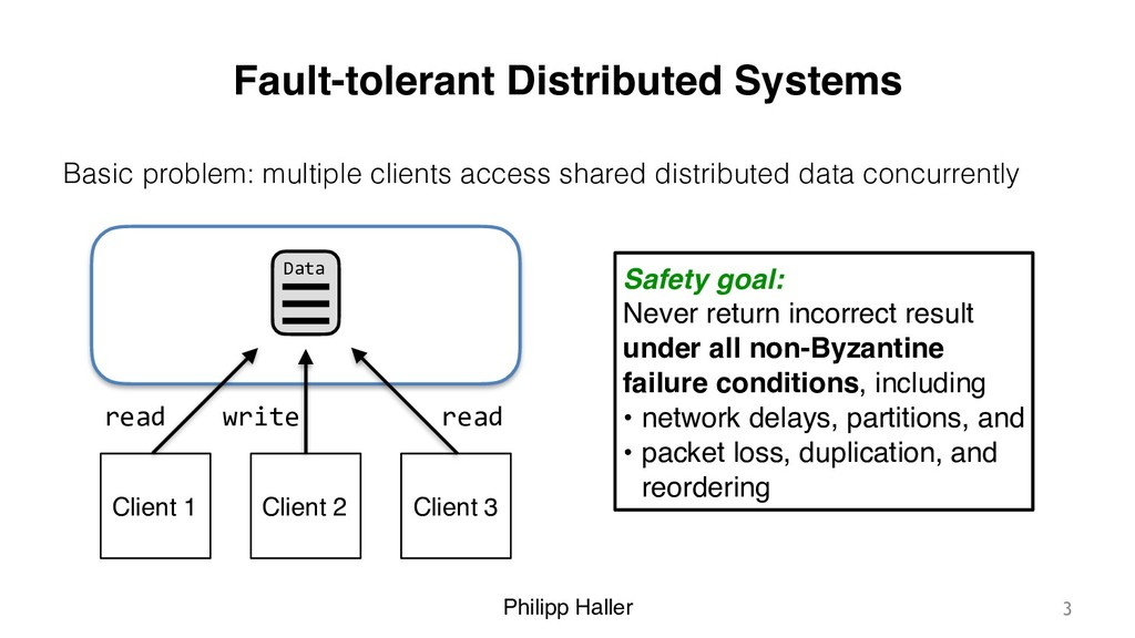 Philipp Haller Fault-tolerant Distributed Syste...