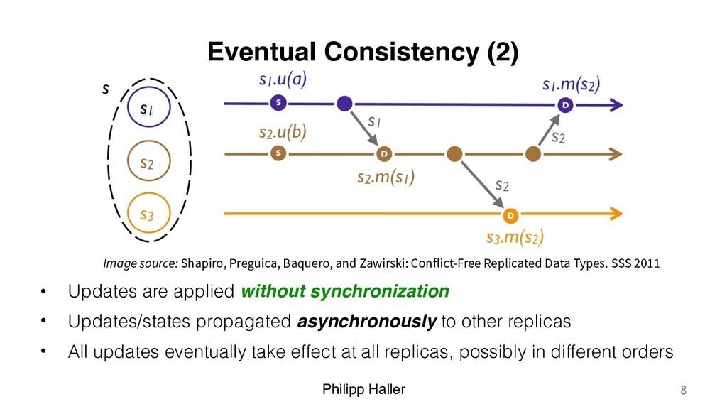 Philipp Haller Eventual Consistency (2) • Updat...