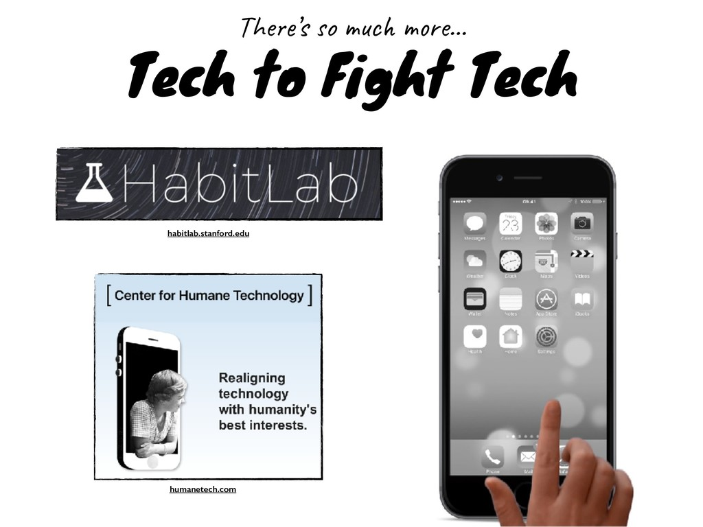 Tech to Fight Tech There's so much more… habitl...