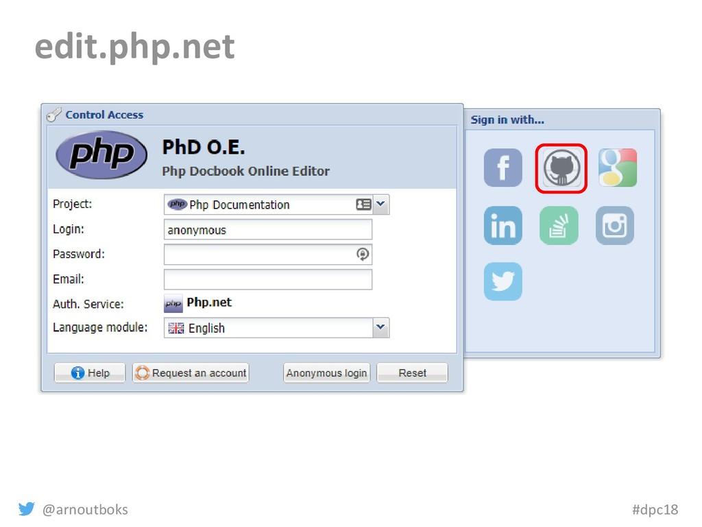 @arnoutboks #dpc18 edit.php.net