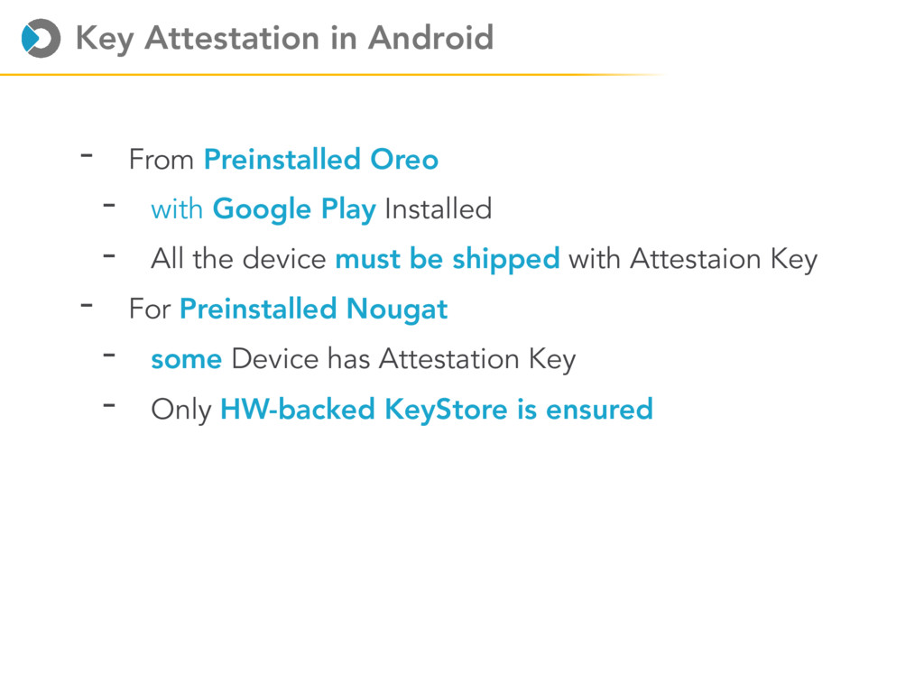 Key Attestation in Android - From Preinstalled ...