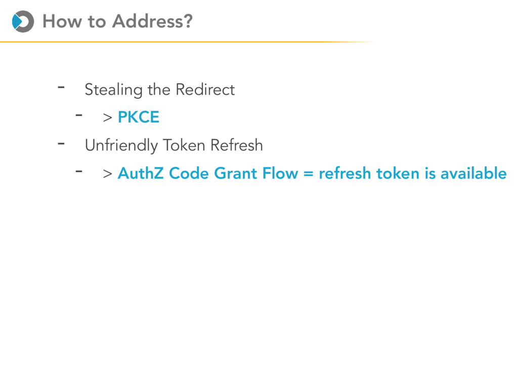 How to Address? - Stealing the Redirect - > PKC...