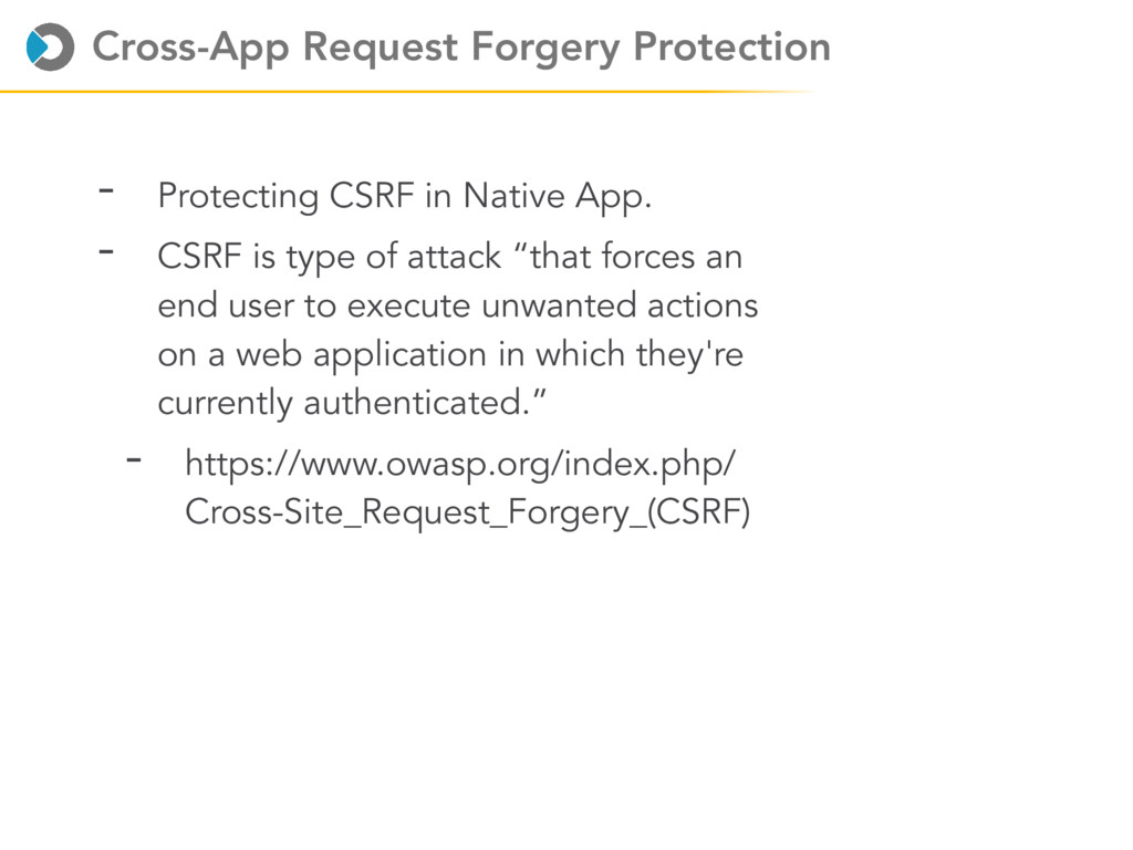 Cross-App Request Forgery Protection - Protecti...