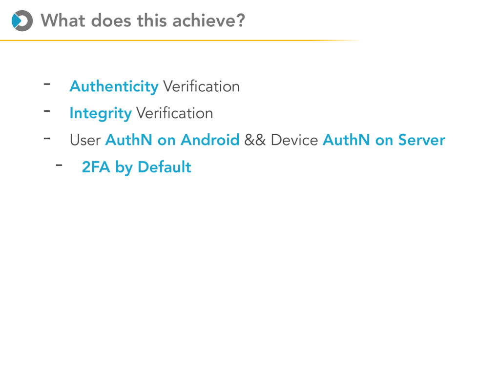 What does this achieve? - Authenticity Verifica...