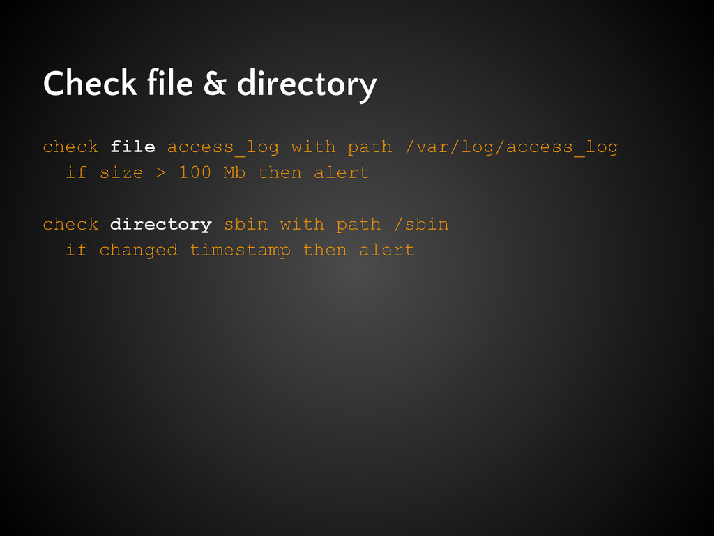 Check file & directory check file access_log wi...