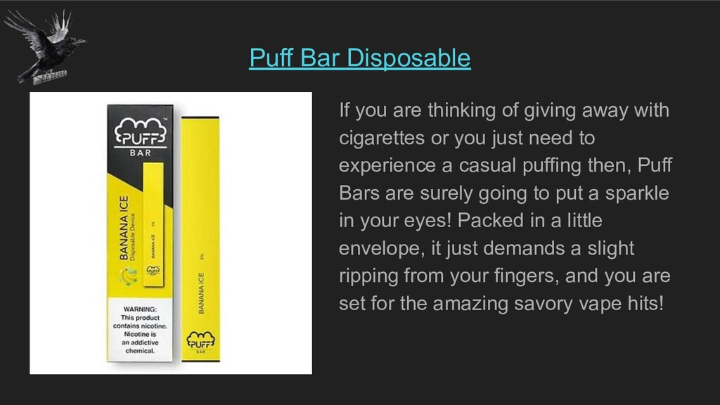 Puff Bar Disposable If you are thinking of givi...