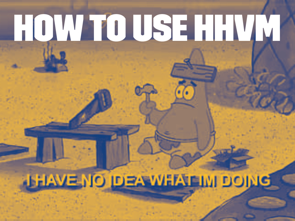 How to use HHVM