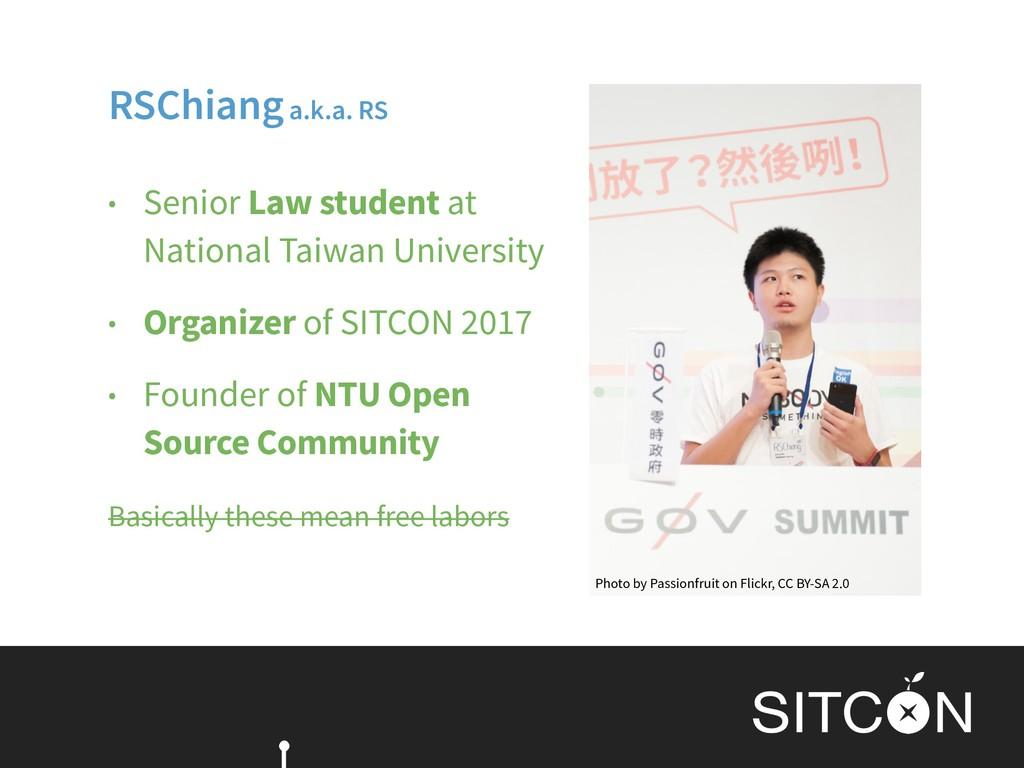 • Senior Law student at National Taiwan Univer...