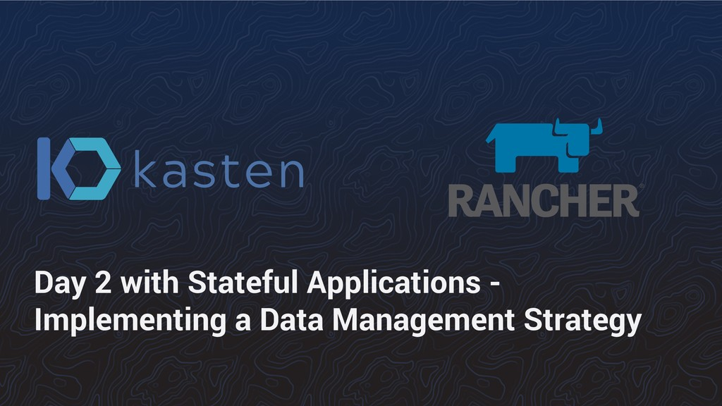 Day 2 with Stateful Applications - Implementing...