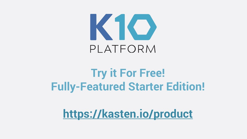 Try it For Free! Fully-Featured Starter Edition...