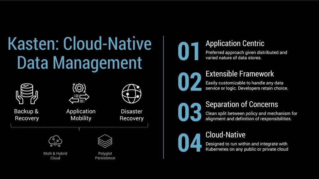 Kasten: Cloud-Native Data Management Backup & R...