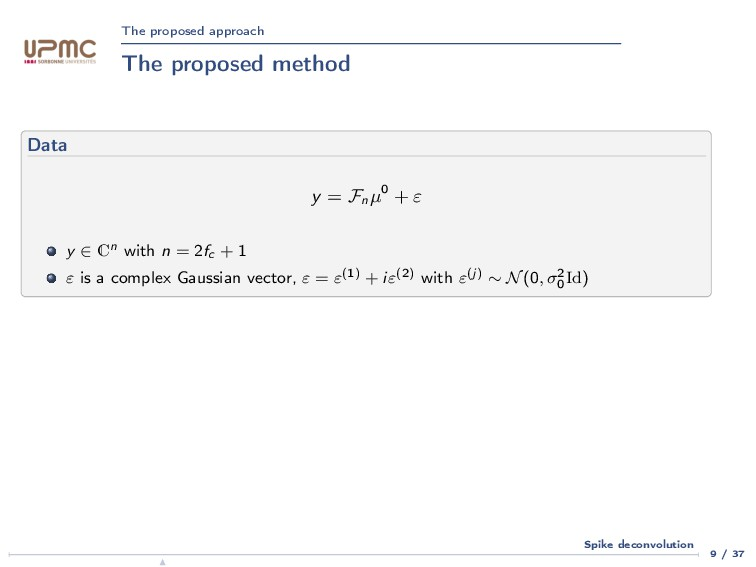 The proposed approach The proposed method Data ...