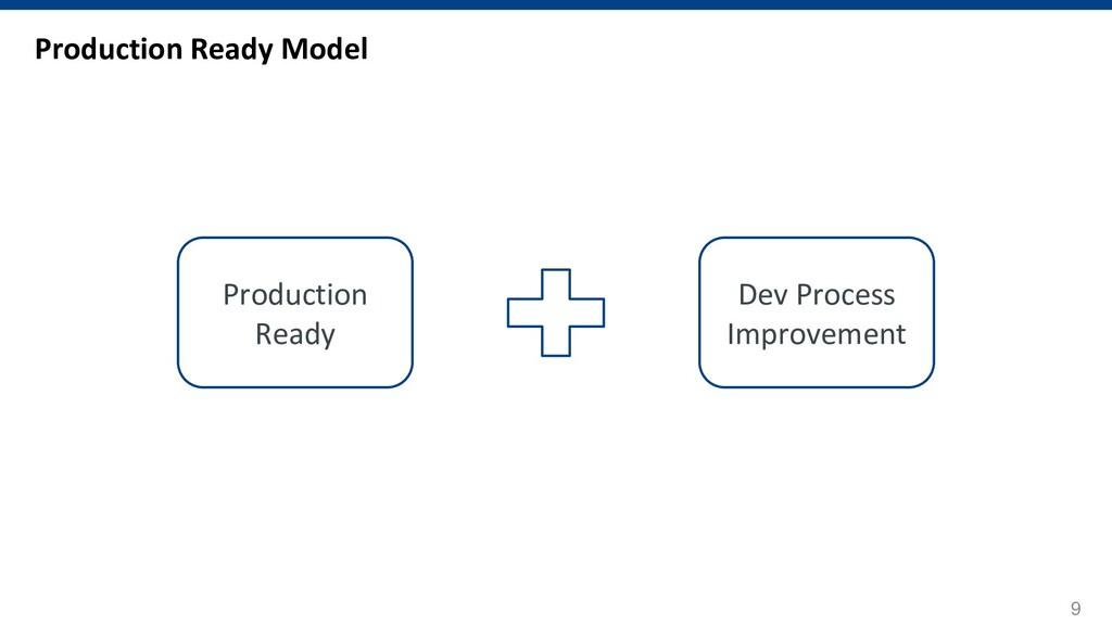 9 Production Ready Model Production Ready Dev P...