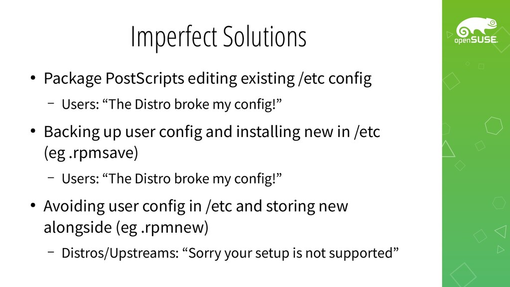 Imperfect Solutions ● Package PostScripts editi...