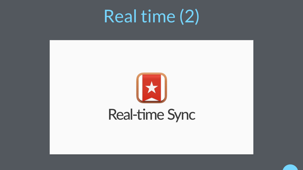 Real time (2)
