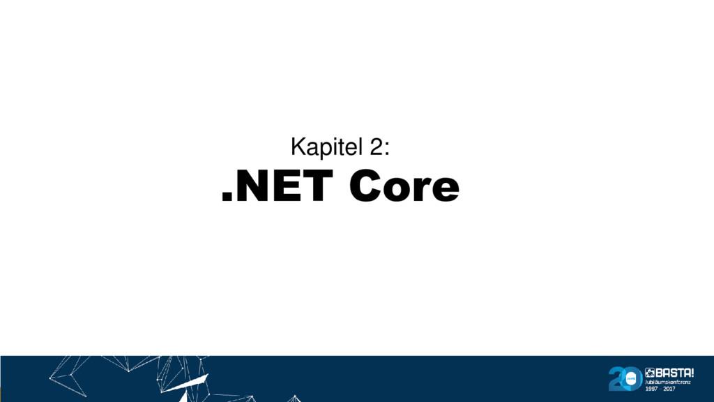 Kapitel 2: .NET Core