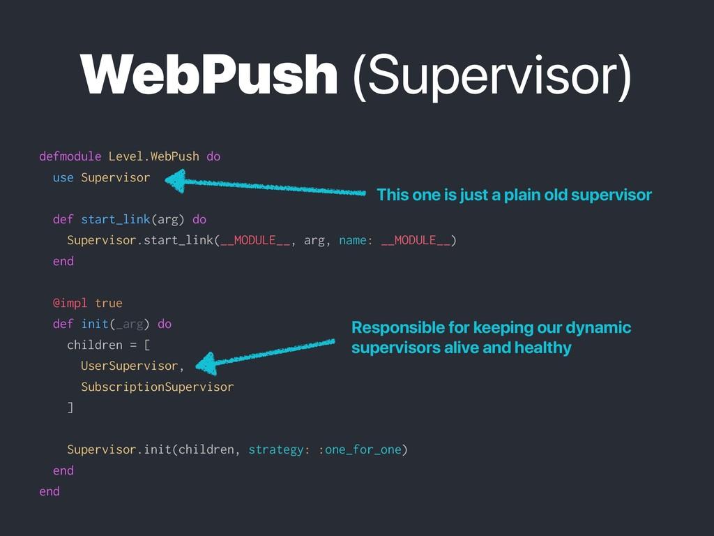 WebPush (Supervisor) defmodule Level.WebPush do...