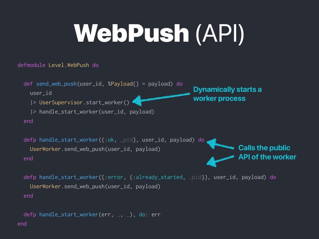 WebPush (API) defmodule Level.WebPush do def se...