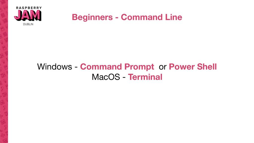 Beginners - Command Line Windows - Command Prom...