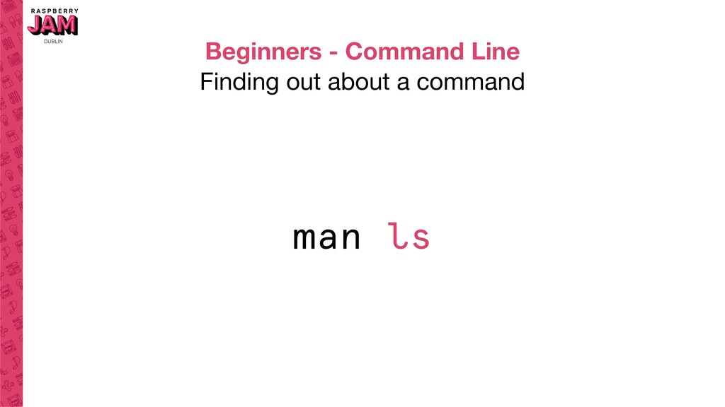 Beginners - Command Line Finding out about a co...