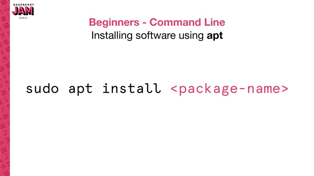 Beginners - Command Line Installing software us...