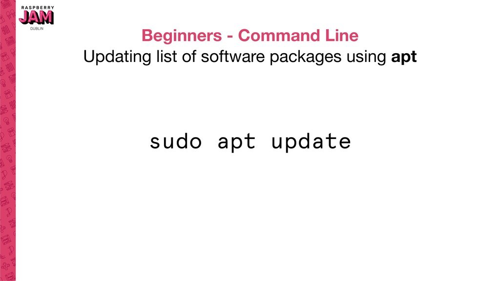 Beginners - Command Line Updating list of softw...