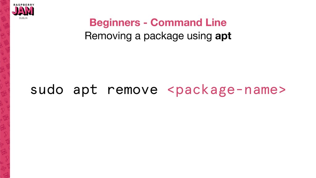 Beginners - Command Line Removing a package usi...