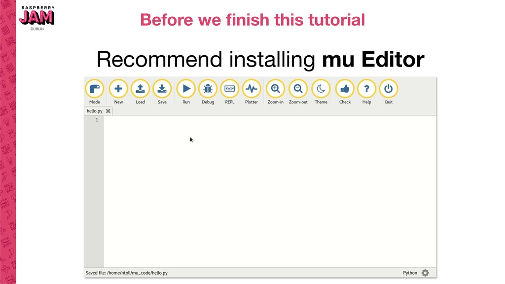 Before we finish this tutorial Recommend install...