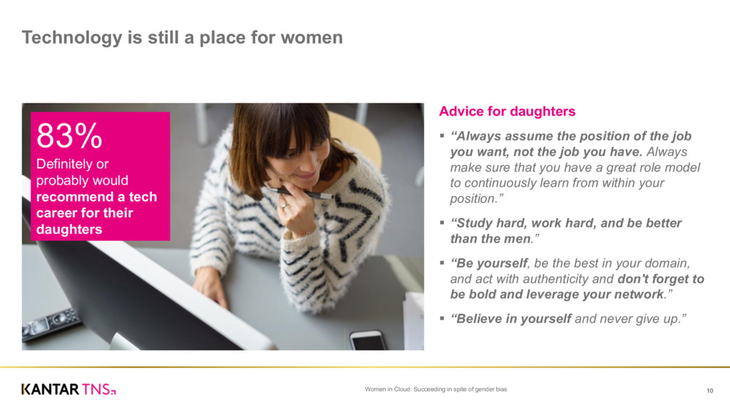 """Advice for daughters § """"Always assume the ..."""