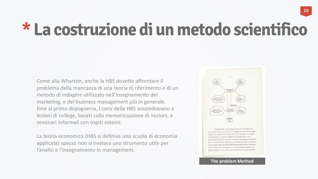* La costruzione di un metodo scientifico 16 Th...
