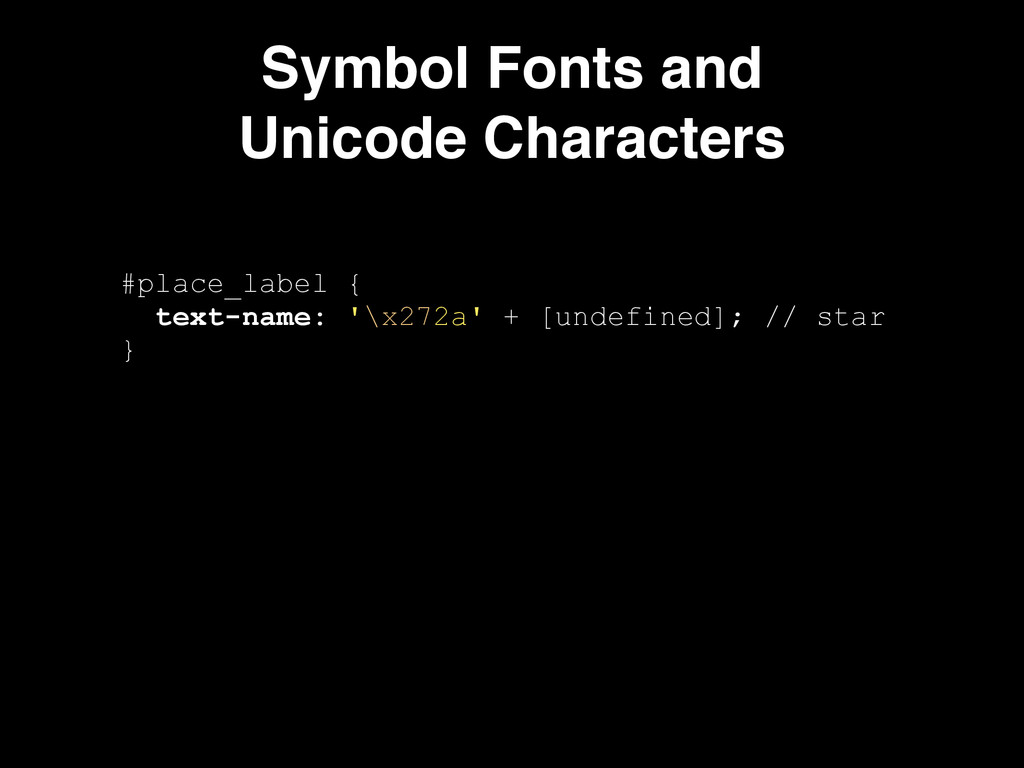 Symbol Fonts and! Unicode Characters #place_lab...