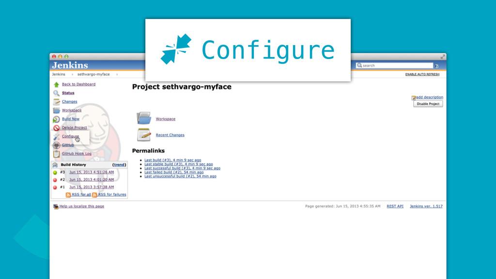 J Configure J